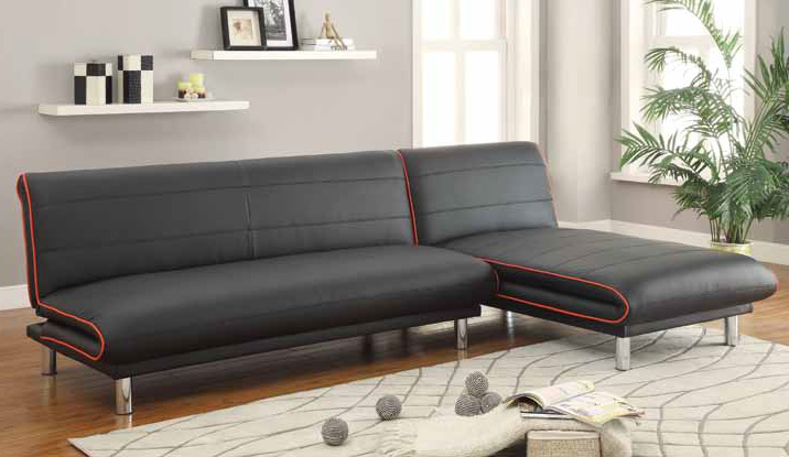 Red Leather Sofa Bed Steal A Sofa Furniture Outlet Los