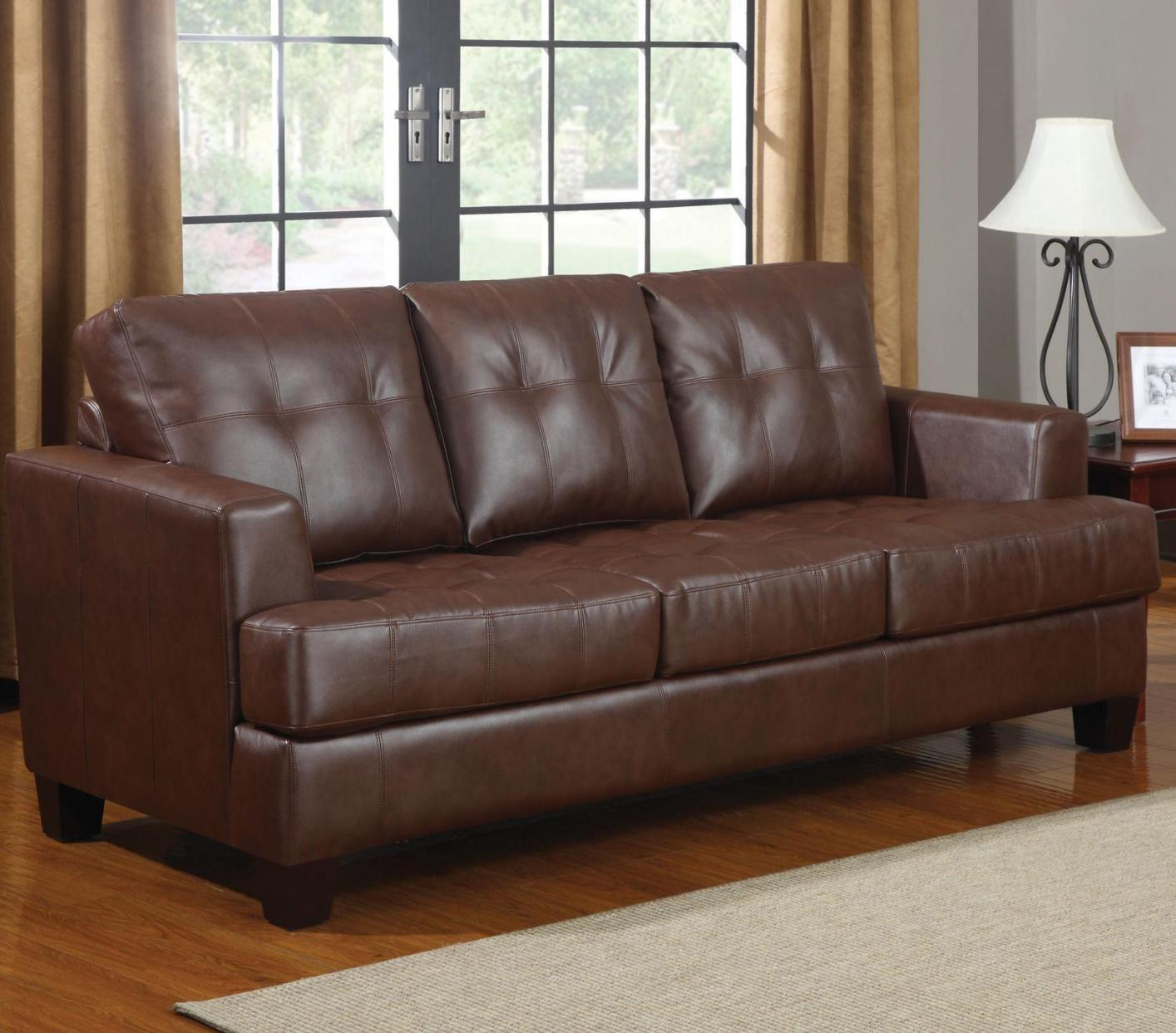 Brown Leather Sofa Bed Steal A Sofa Furniture Outlet Los