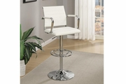 White Leather Bar Stool