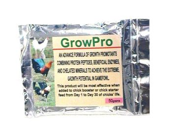 **NEW** GrowPro  50g (1.76 oz)  (chick growth stimulant)