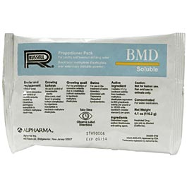 BMD Soluble 4.1 oz. powder (bacitracin)   (not for sale in California)