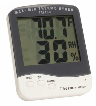 Electronic Hygrometer / Thermometer Jumbo