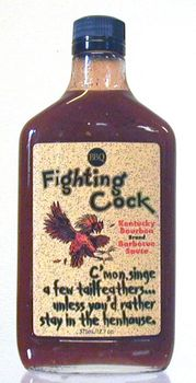 Fighting Cock Kentucky Bourbon Hot Sauce
