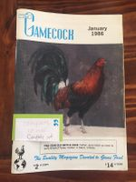 Gamecock 1986 whole year (11 issues)