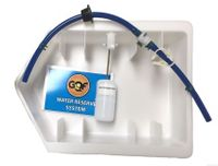 GQF Auto water pan with valve & float # 3031