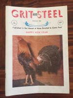 Grit & Steel 1984 whole year (12 issues)