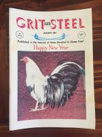 Grit & Steel 1987 whole year (12 issues)