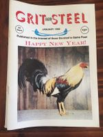 Grit & Steel 1992 whole year (12 issues)