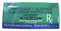 Hammer Worming Tablets  50 tablets