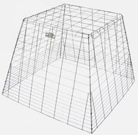 Light Duty Drop Pen  galvanized pyramid shape  (+ freight, pick UPS shipping only)