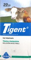 Tigent  20ml injectable.