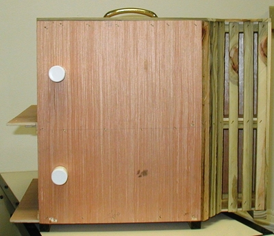 Wooden Bird Carry Boxes