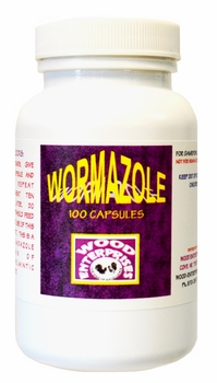 Wormazole  100 capsules    (not for sale in California)