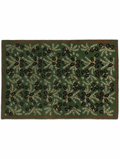 6' x 9' Large Area Hooked Wool Rugs