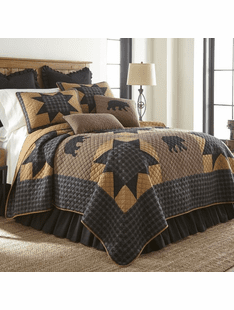 Bear Star Quilted Bedding Collection