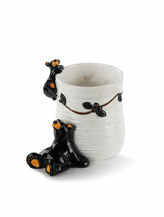 Berry Bear Utensil Holder
