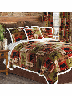 Patchwork Lodge Twin 3 Piece Set