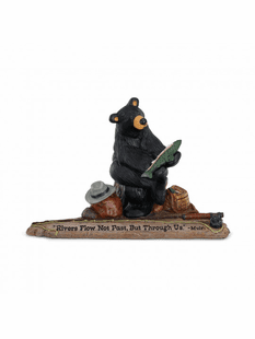 RIVERS FLOW BEAR FIGURINE