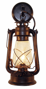 Rustic Lantern Large Wall Sconce
