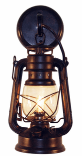Rustic Lantern Small Wall Sconce
