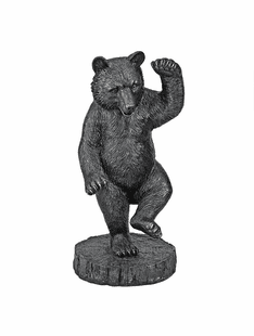 The Bear Dance Garden Statue