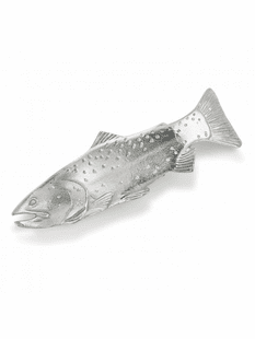 TROUT METAL SPOON REST