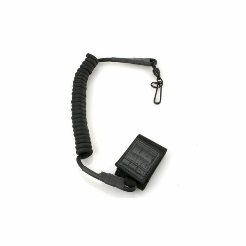 Blackhawk Tactical Pistol Lanyard, Coiled With Swivel