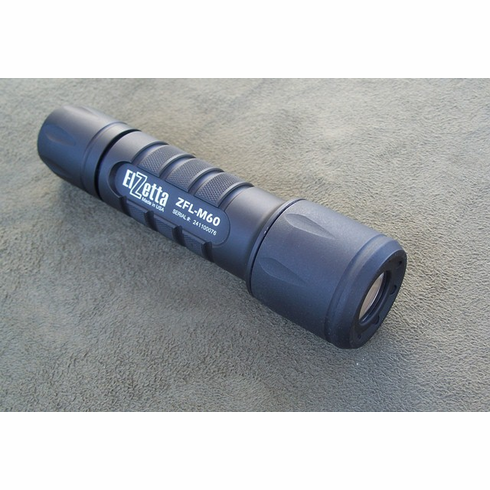 Elzetta ZFL-M60 Tactical LED Weapon Light Low Profile Bezel (2 Cell)
