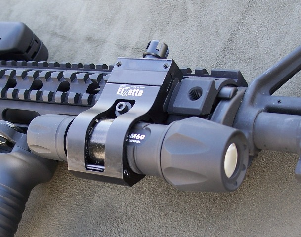 Elzetta ZORM Offset Tactical Flashlight Mount