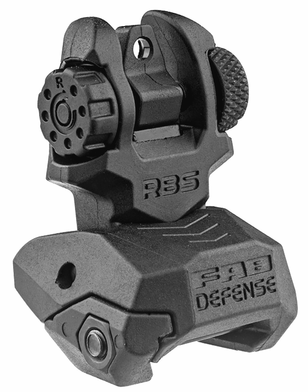 FAB Defense Poly Rear Flip Up Sight - FX-RBS