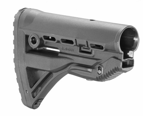 Fab Defense Recoil-Reducing M4/AR-15 Stock - FX-GLSHOCK