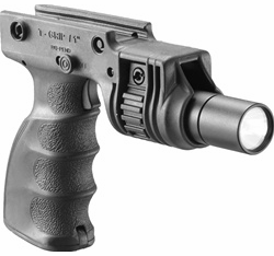 Mako Tactical Foregrip with 1� Weapon Light Adapter and Integrated On/Off Trigger