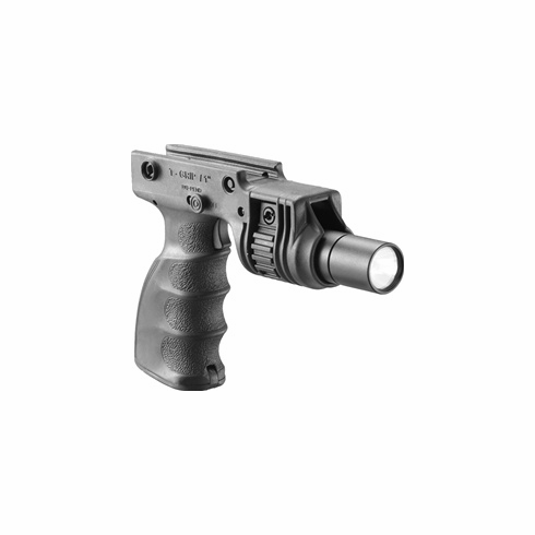 "Mako Tactical Foregrip with 1"" Weapon Light Adapter and Integrated On/Off Trigger"