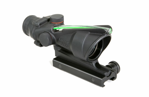 Trijicon ACOG 4X32 Scope, Green Chevron