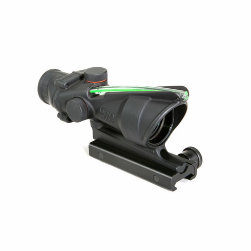 Trijicon ACOG 4X32 Scope, Green Horseshoe w/ Target Reference System
