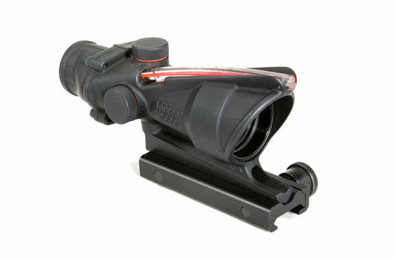 Trijicon ACOG 4X32 Scope, Red Chevron