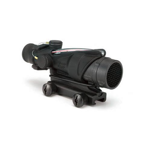 Trijicon ACOG 4X32 Scope, Red Chevron, M16/M4 14.5""