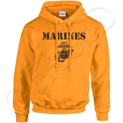 Bulk Wholesale Clothing US Marines Pullover Hoodies Military Suppliers - MSC Distributors