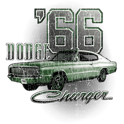 Wholesale Men's Women's Dodge Charger 66 Car T Shirts Bulk Suppliers - 21541D1