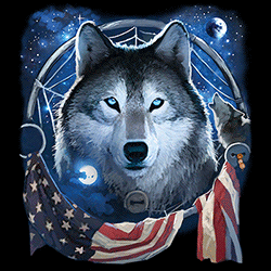 Wholesale Wildlife Wolf Clothing Apparel Officially Licensed Caps T Shirts Bulk Cheap Suppliers - MSC Distributors - 21906D2
