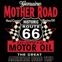 Wholesale T Shirts - Wholesale Hats and Caps - Muscle Classic Retro Fashion Funny Vintage Route 66 Car Bulk Clothing - MSC Distributors