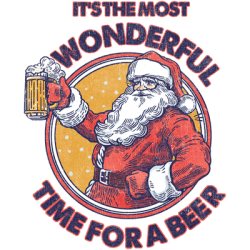Wholesale Christmas T Shirts - Bulk T Shirts - Santa Beer Funny Holiday Drinking Novelty T Shirts in Bulk - 23416HD2-2