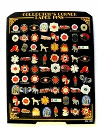 Wholesale Firefighter Cap Pins Suppliers - 72PIN - FireDept EMT. Hat Pin Display