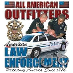 Law Enforcement T Shirts - A10063D
