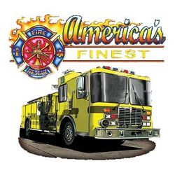 Firefighter T Shirts - A10078F