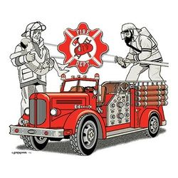 Firefighter T Shirts - a10154c