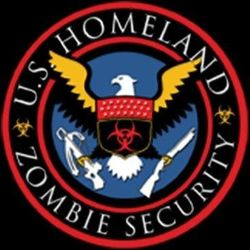 Zombie Homeland Security T Shirts - a10450f