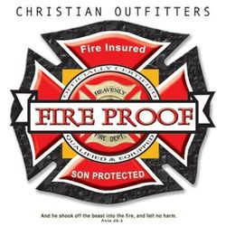 Christian Firefighter T Shirts - a10451e