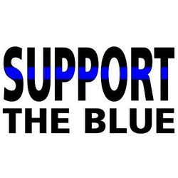 Support The Blue T Shirts - a9803c