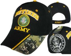 Military Army Retired Hats and Caps - MSC Distributors